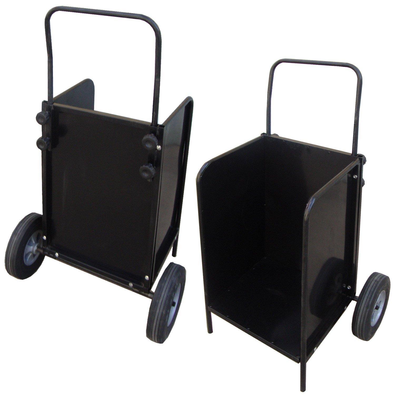 Carros de le a cestas y portadores estufas web for Cestas para lena