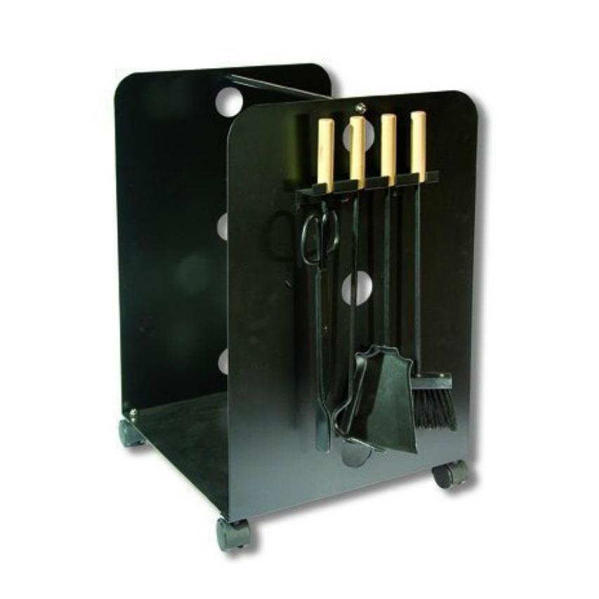 Cestos para le a y almacenaje interior estufas web - Accesorios para chimeneas de lena ...