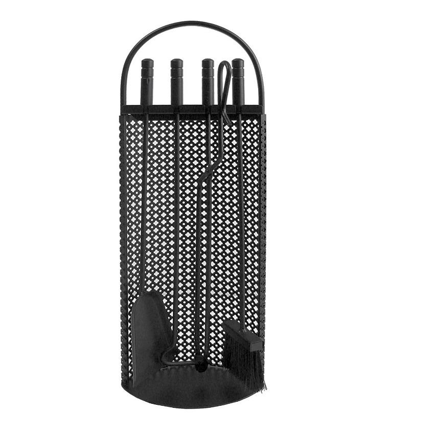 Imex El Zorro 10010 - Juego para chimenea malla antigua (68 x 23 x 14 cm) útiles negros