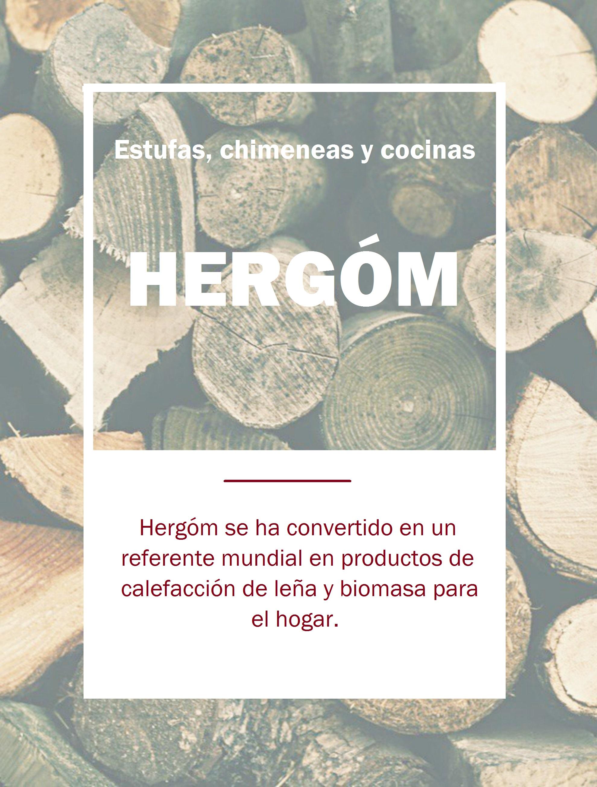 Hergóm: Estufas, hogares y chimeneas