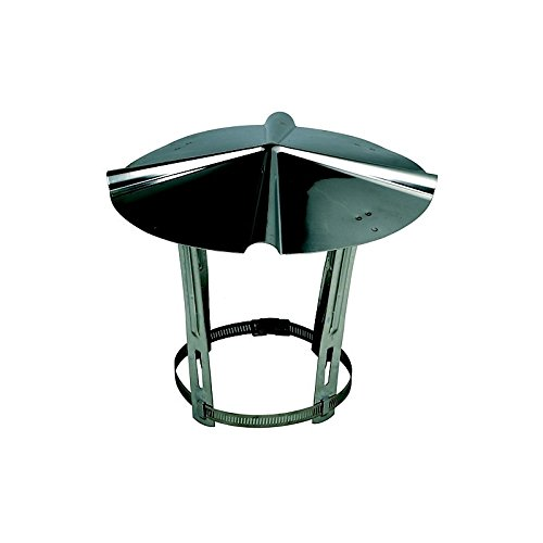Sombreros para chimeneas (China) de acero inoxidable de tejados 111 a 80 mm