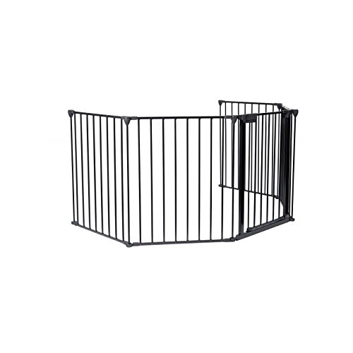 Babyfield, Barrera de seguridad cortafuegos para niños, 80 x 68 x 14 cm
