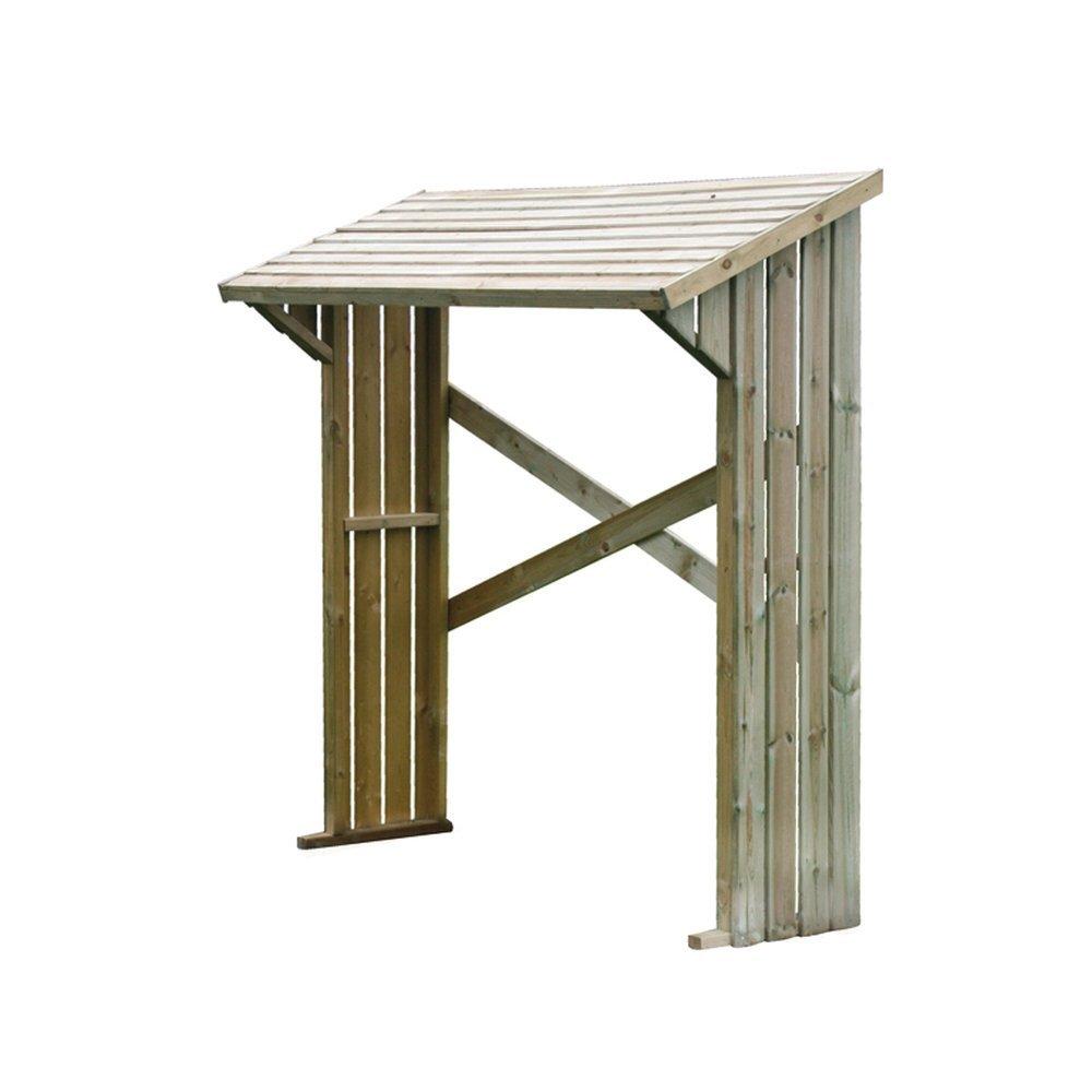 Forest-style Leñero madera rizzo 182x180x71