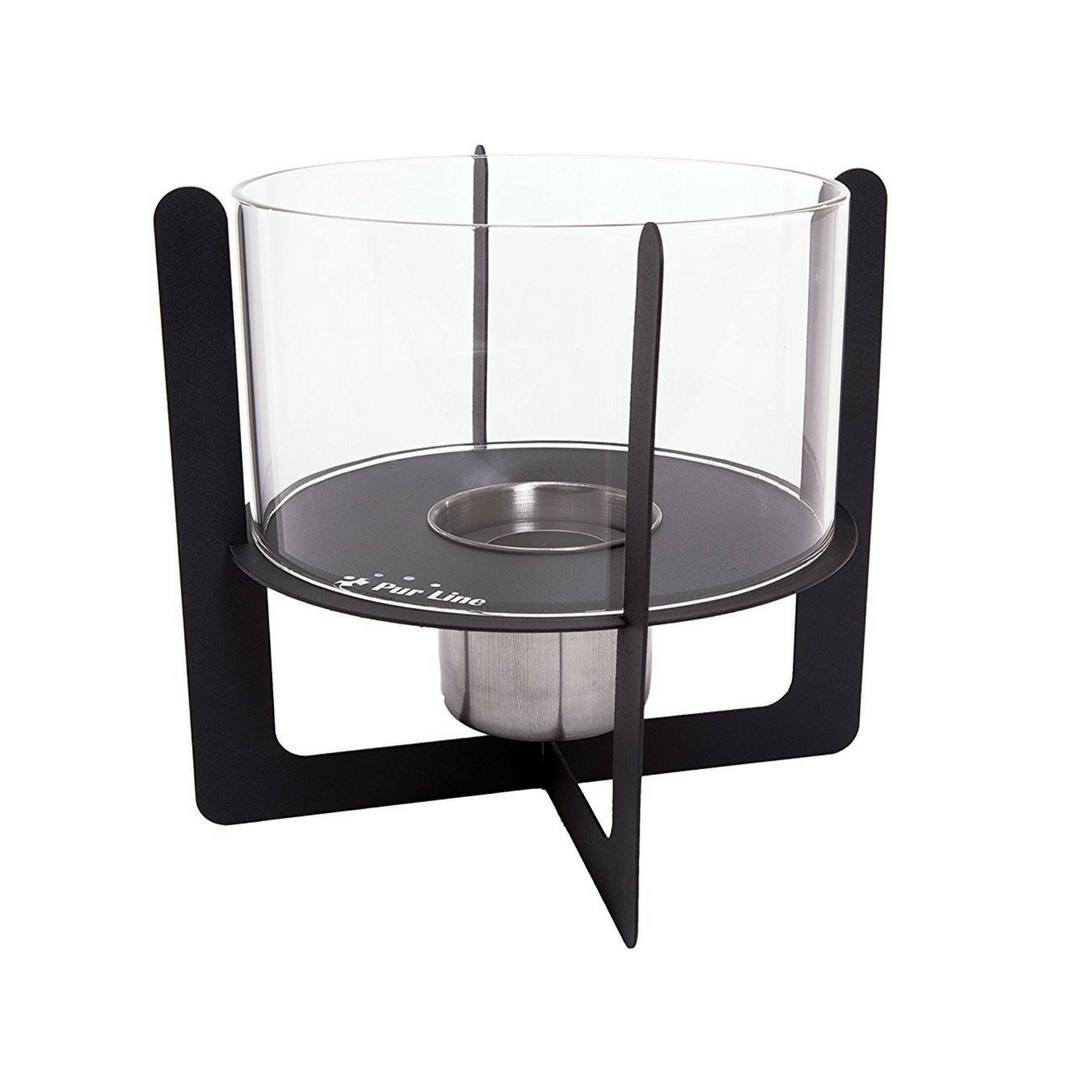 PURLINE Biochimenea de mesa SELENE Negro