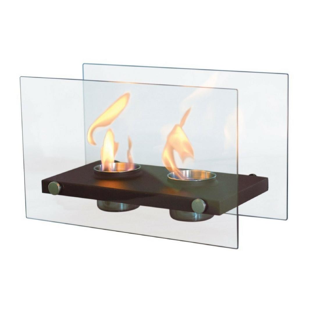 Purline doble fuego chimenea de mesa bioetanol