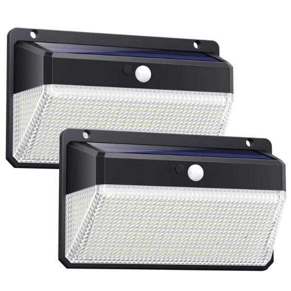 Ekrist Luz Solar Exterior, 328 LED Luces Solares